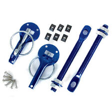 LMA Alloy Bonnet Pins / Fasteners Kit Anodised Blue