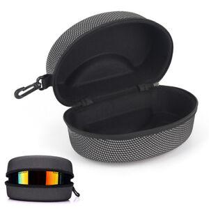 EVA Snow Ski Eyewear Case Skiing Goggles Carrying Case Zipper Box Holder HB