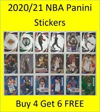 2020/21 NBA Panini Stickers (#251-#500) Buy 4 Get 6 FREE inc LeBron Zion Simmons