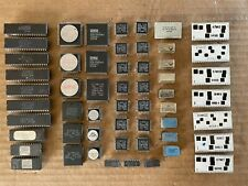 Lot of various scrap electronic components for gold precious metal recovery.