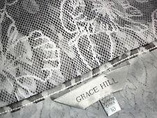 GRACE HILL LaceShellAbstractAnimalPrintTunic Size10