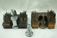 VINTAGE WATCH REPAIR TOOLS STAKING SET TOOL LOT WATCHMAKER JEWELER CLOCKMAKER