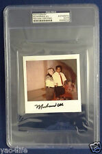 Muhammad Ali PSA/DNA Polaroid Photograph Signature Signed Auto Autograph RARE