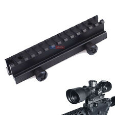 "Tactical Flat Top 1"" Riser Scope Mount for 20mm Weaver Picatinny Rail sea"