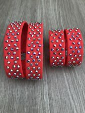 freestyle dance costumes New Stoned Flame Ankle And Wrist Bands