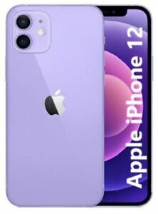 Apple iPhone 12 5G 128GB NUOVO Originale Smartphone iOS 14 Purple Viola