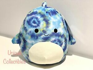 """Squishmallows Luther the Shark 10"""" Plush Brand NEW"""