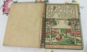 1902 A Child's Garden of Verses by Robert Louis Stevenson