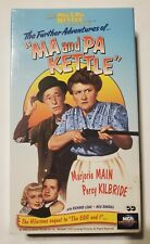 The Further Adventures of Ma and Pa Kettle (VHS, 1994)