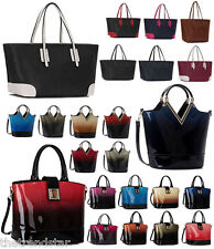 Womens Handbags Ladies Shoulder Bags New Faux Leather Celebrity Style Designer