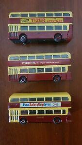 4 Corgi Bus OOC Daimler ,CVG6East Lancs,Bradford City Transport , nice Cond