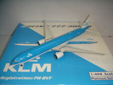 "Phoenix 400 KLM Royal Dutch Airlines B777-300ER ""2000s color"" 1:400"