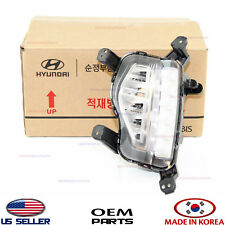 LAMP LEFT DAYTIME RUNNING FOG LIGHT GENUINE SANTA FE 6-7 SEAT 2017-18 92201B8610