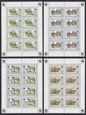 Burundi 1997 WWF Stamp Set CAROLOPHILEX on MNH Full Sheets - Cat Val 900€..A6102