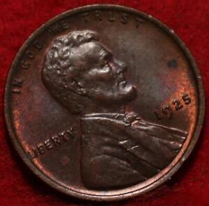 1925 Philadelphia Mint Copper Lincoln Wheat Cent