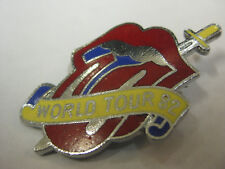 ROLLING STONES WORLD TOUR '82 PIN-NEW
