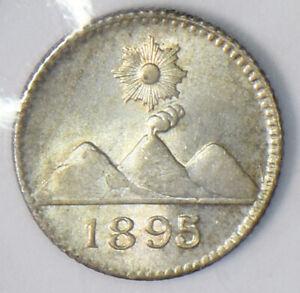 Guatemala 1895 1/4 Real 490147 combine shipping
