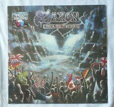 SAXON Rock The Nations Factory Sealed COLORED VINYL LP 2018 W/ BONUS GIFT