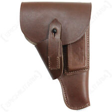 LEATHER MAUSER HOLSTER - BROWN - Repro Brown Carrier Holder Pocket Pouch