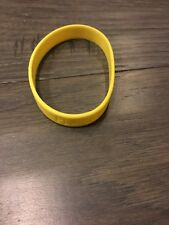 Nike Baller ID bands wrist band wristband new Yellow Word Is Player