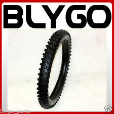 """GL 3.00-21 80/100- 21"""" inch Front Knobby Tyre Tire +Tube PIT PRO Trail Dirt Bike"""