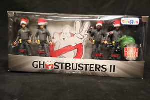 Ghostbusters II action figures Set Toys R Us Christmas Exclusive by Mattel