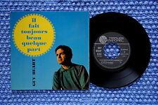 GUY BEART / EP TEMPOREL GB 60005 / Verso 1 / BIEM 1966 ( F )