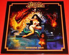 Eternal Champion: Ravening Iron LP Blue Color Vinyl Record 2020 No Remorse NEW