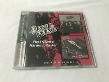RARE CD ALBUM 17T APRIL WINE FIRST GLANCE / HARDER...FASTER (2007) MYLES GOODWIN
