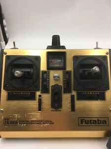 Futaba FP-T6FG Digital RC controller with FP-TF-AM 72.910 MHz Module & Parts