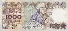 More details for p181a portugal 1000 escudos banknote 1983 in near mint condition