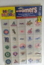 Magic Motion Zoomers Major League Baseball 30 team stickers 1998 Pinnacle