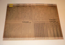 Microfich Teilekatalog Ersatzteilkatalog Toyota Corolla Stand 10/1995