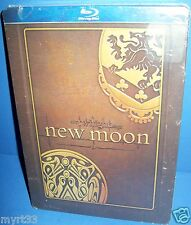 Twilight ~ New Moon ~ Blu-Ray Steel (Metal) Collector's Case New~Factory Sealed