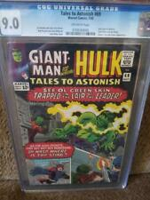 TALES TO ASTONISH #69, CGC = 9.0, VF/NM, Jack Kirby,  Stan Lee, 1965, older CGC