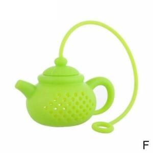 Tea Infuser Loose Leaf Strainer Silicone Herbal Spice Filter Diffuser Teapo new