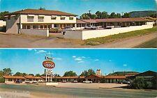 c1960 Reeds Motor Lodge, Springerville, Arizona Postcard