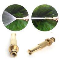 1Pcs Brass Hose Pipe Fitting Garden Tap Hosepipe Quick F2Y8 Spray Nozzle E7X7
