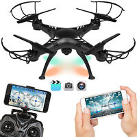 BCP 6-Axis RC Drone Quadcopter w/ Altitude Hold,FPV 720P Video, Wifi Camera