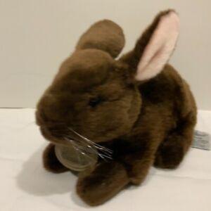 Russ YOMIKO CLASSICS BROWN DUTCH BUNNY Rabbit 9 in STUFFED ANIMAL PLUSH Soft Toy