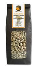 Rohkaffee - Grüner Kaffee Colombia Supremo (grüne Kaffeebohnen 500g)