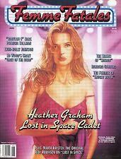 Femme Fatales Magazine Heather Graham Vol 7 No 1 June 1998