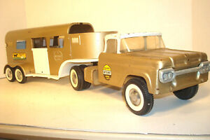 VINTAGE NYLINT FORD HORSE VAN 6300,TRACTOR TRAILER PICKUP DELIVERY TRUCK ,PARTS
