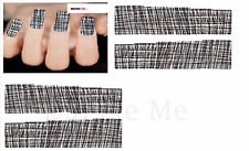 Nail Art Sticker Water Decals Transfer Stickers Weaved Pattern (DX1547)