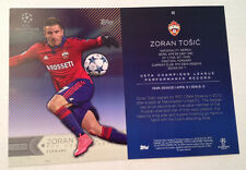 2016 Topps UEFA Champions 5x7 GOLD (#/10 Made) ZORAN TOSIC Moskva Russia #46
