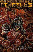 Shredder in Hell #1 IDW Variant Rare signed Eastman TMNT