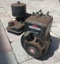 COMPLETE BRIGGS STRATTON 2 HP ENGINE RUNS WELL