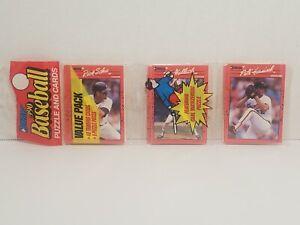 Vintage * MLB * Donruss * Baseball * 1990 * Rack Pack * Schu, Wallach, & Harnisc