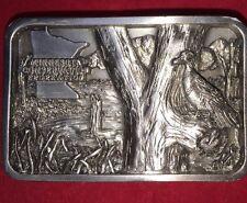YA Vtg 1997 Minnesota Conservation Federation Belt Buckle Limited Edition