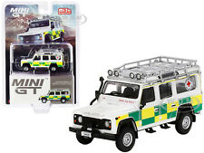 LAND ROVER DEFENDER 110 RHD BRITISH RED CROSS SEARCH & RESCUE 1/64 TSM MGT00159